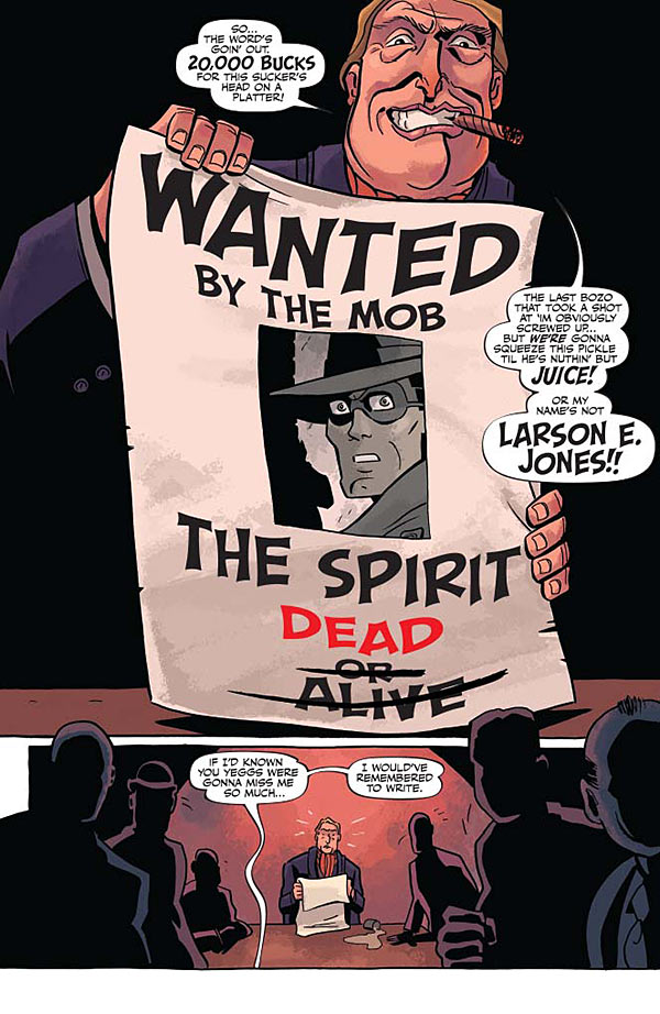 Will Eisner's The Spirit #7 Preview Page