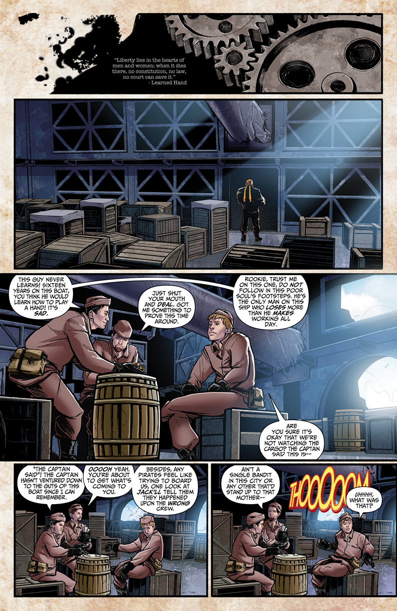 Grimm Fairy Tales: Steampunk #1 Preview Page
