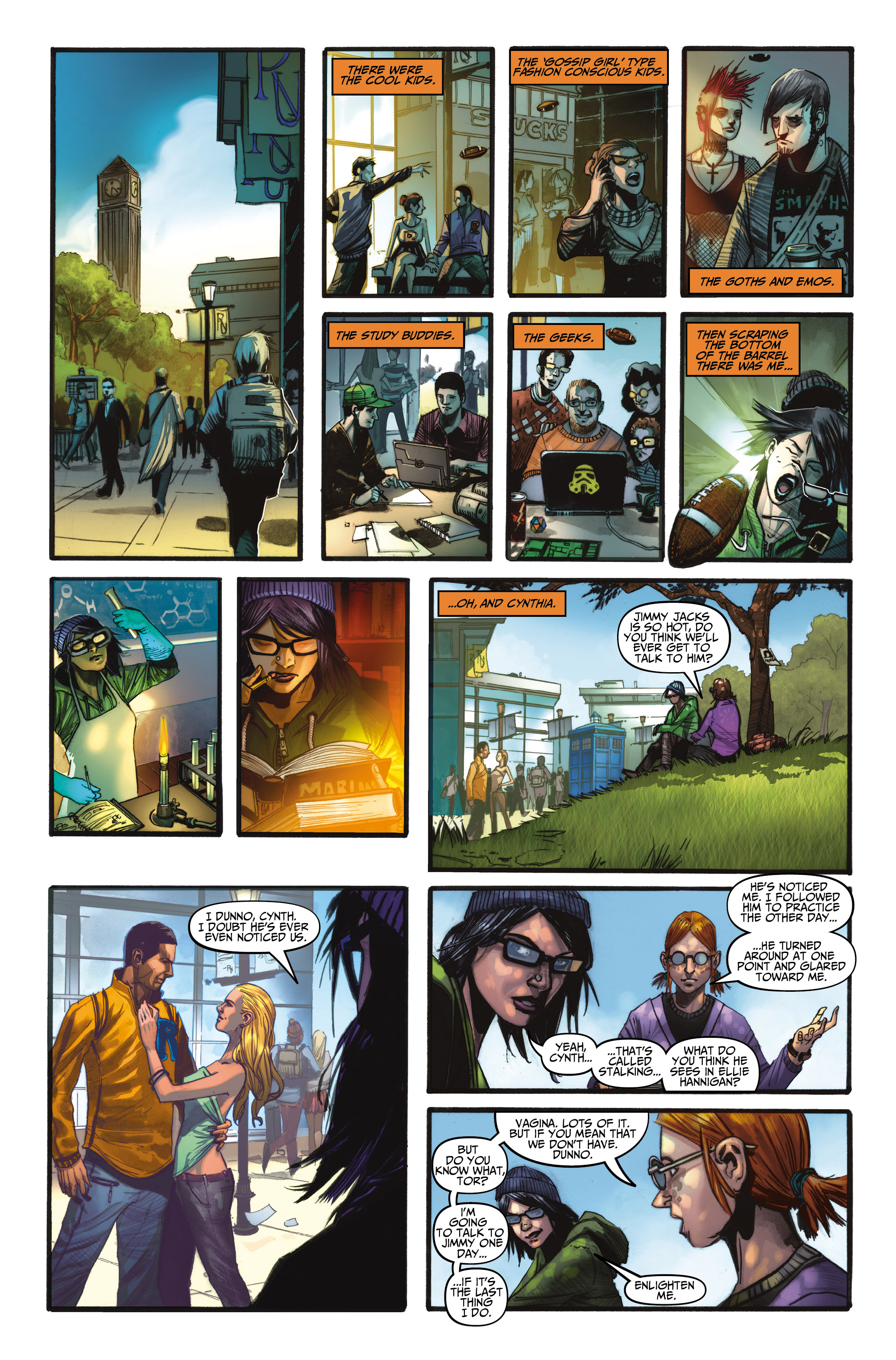 The Troop #2 Preview Page