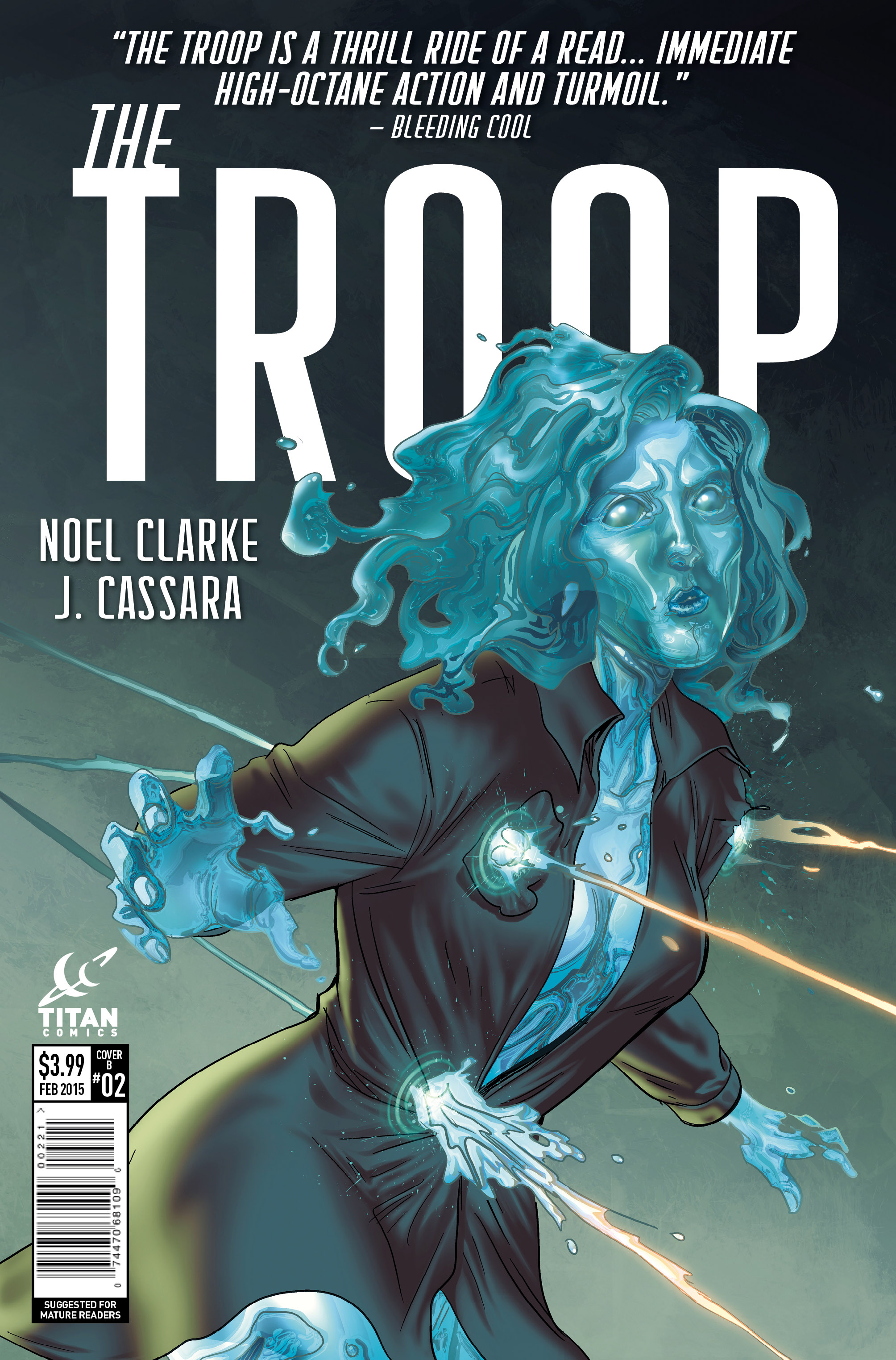 The Troop #2 Cover