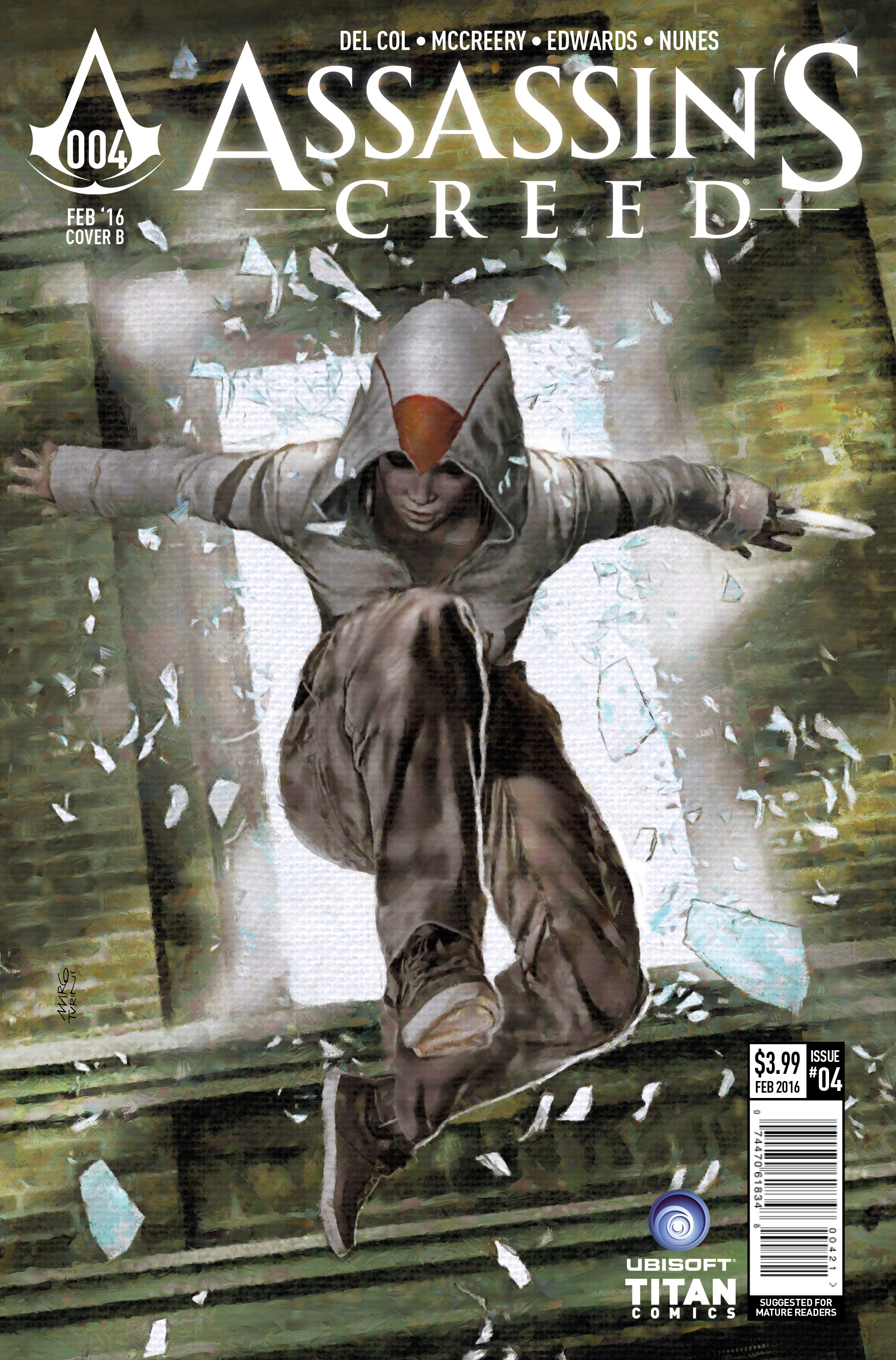 Assassin's Creed #4 Cover