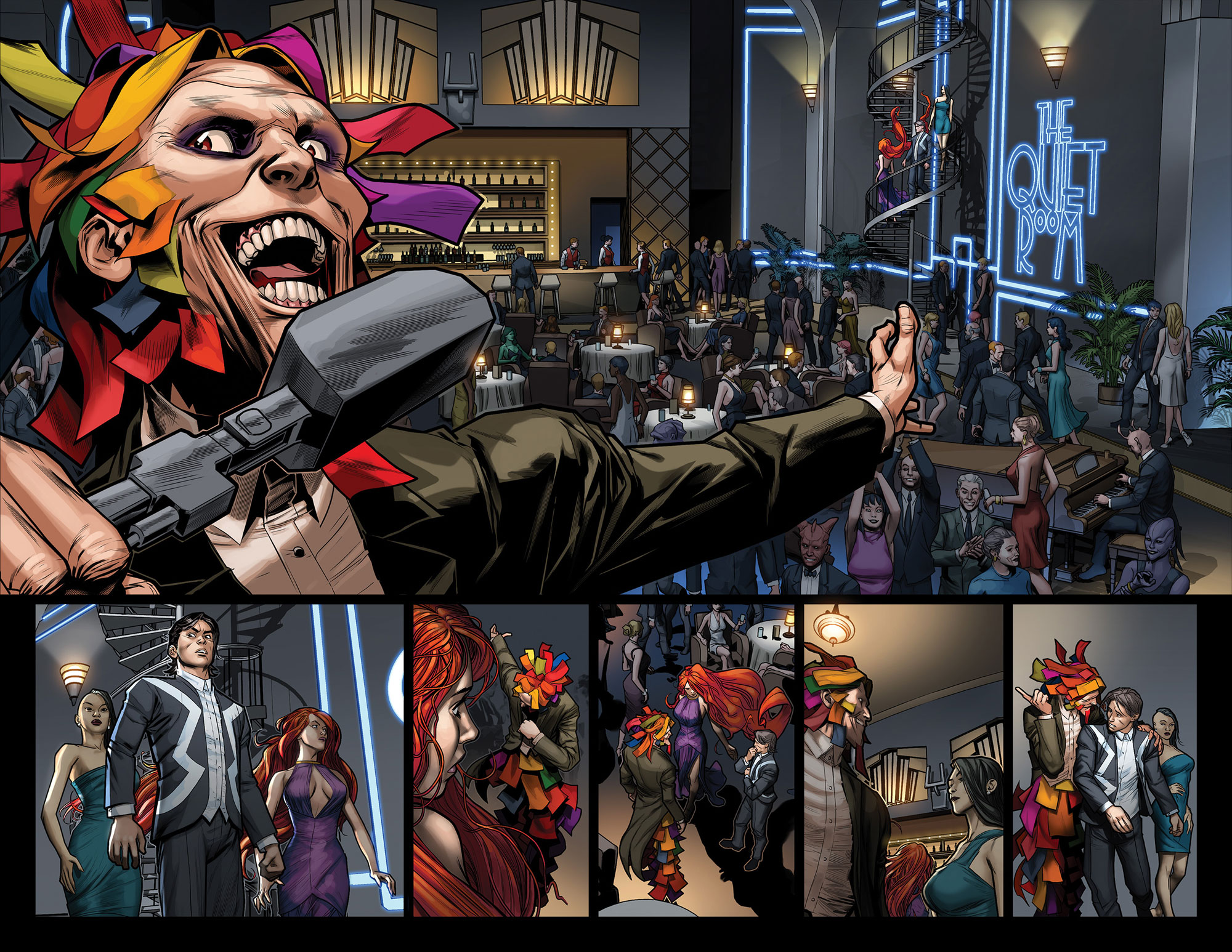 Uncanny Inhumans #5 Preview Page