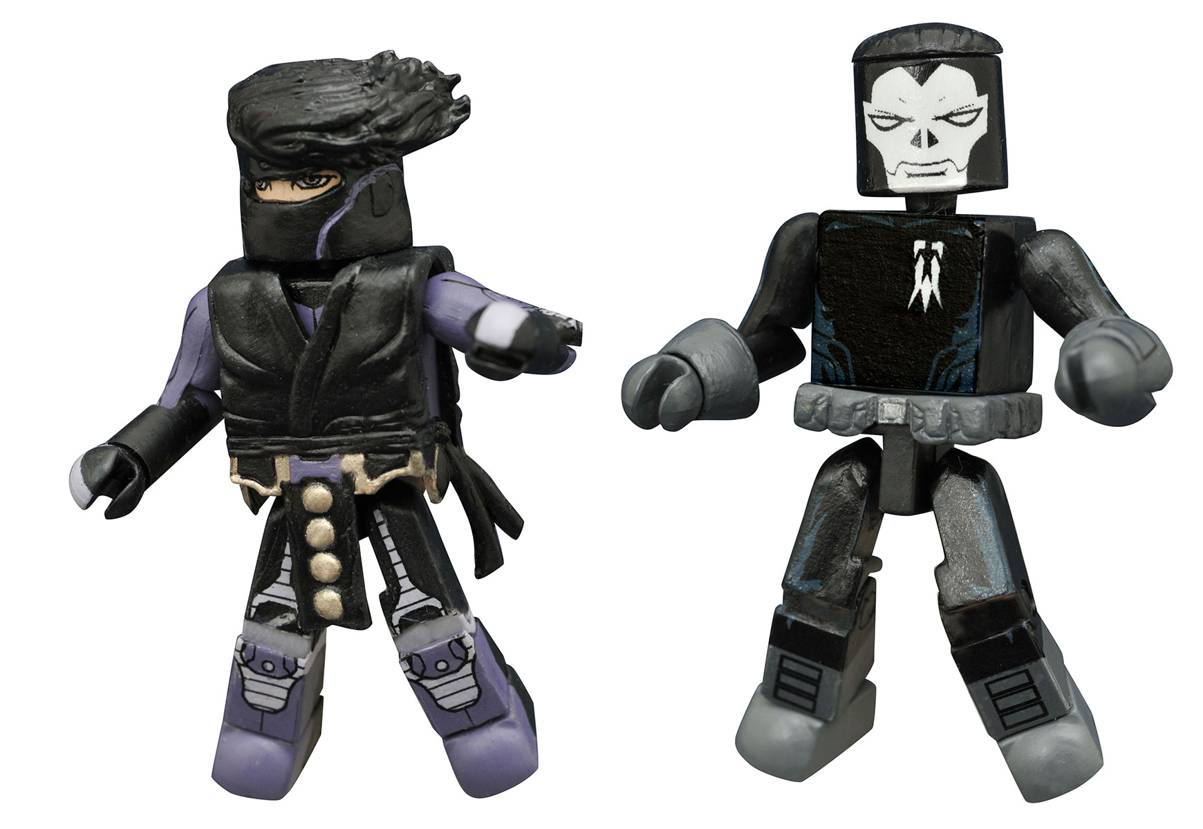 Ninjak and Shadowman Minimates