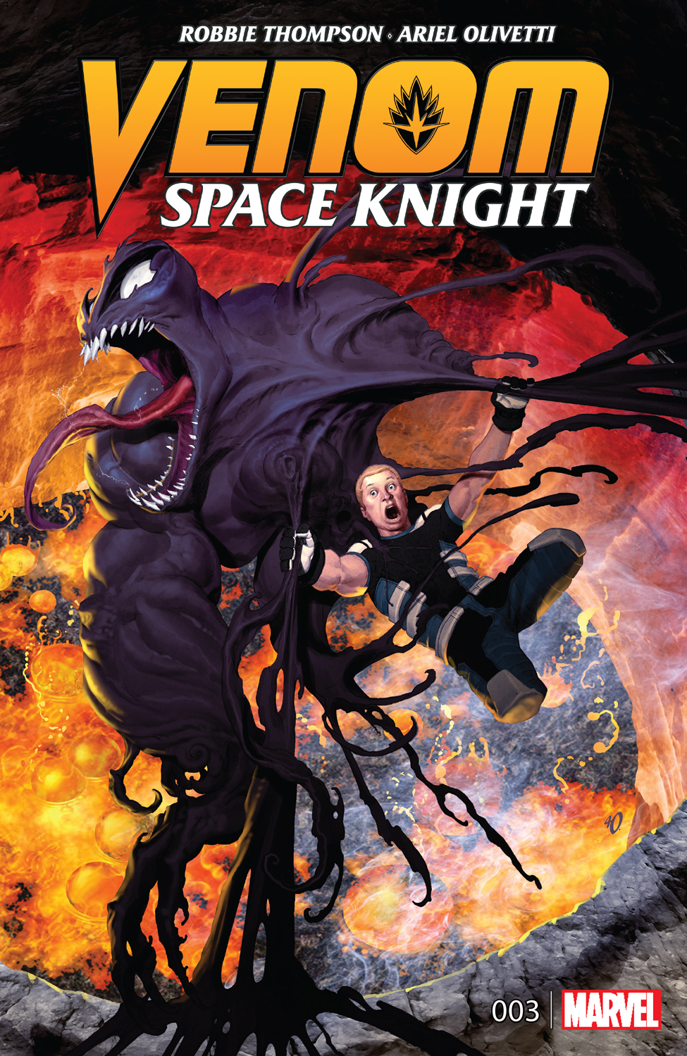 Venom: Space Knight #3 Cover