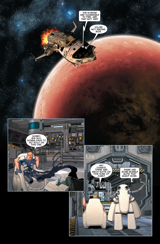 Venom: Space Knight #3 Preview Page