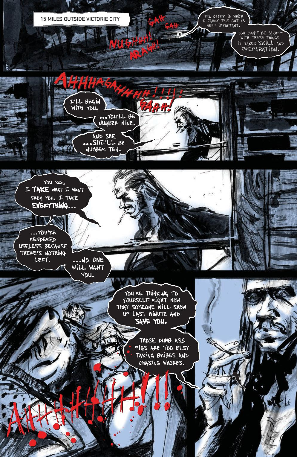 Victorie City #1 Preview Page
