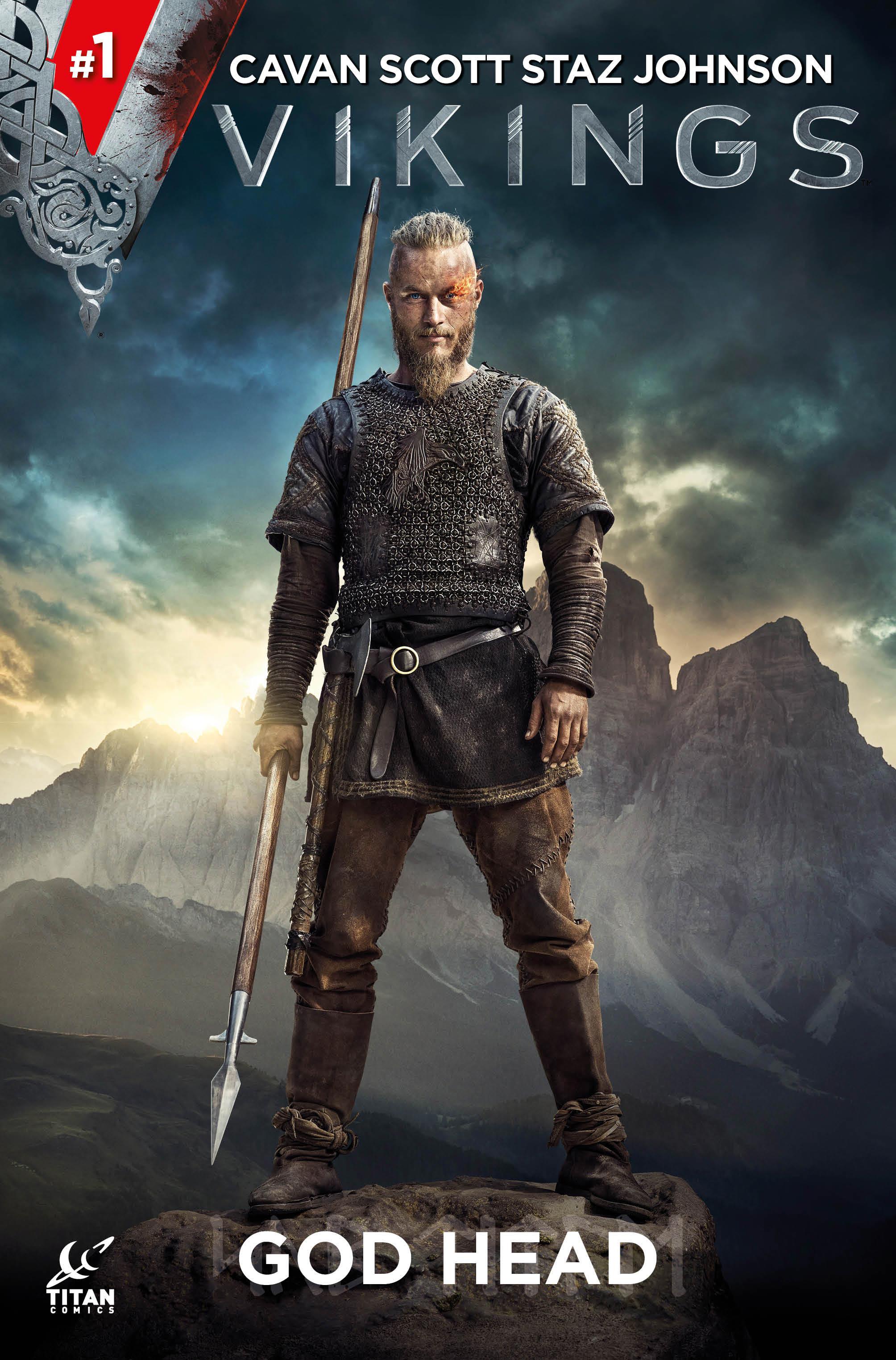 Vikings #1 Cover