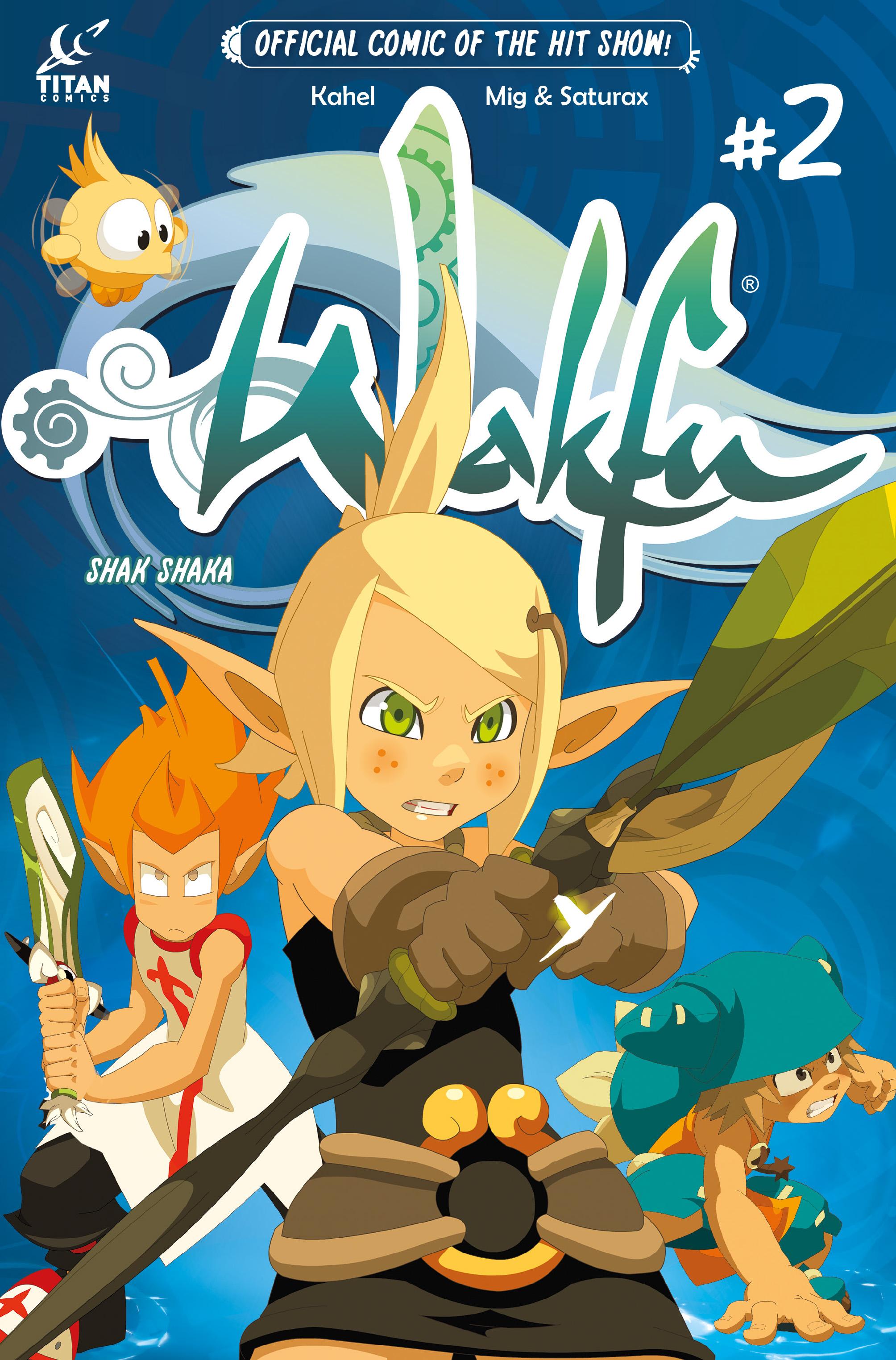 Wakfu #2 Cover