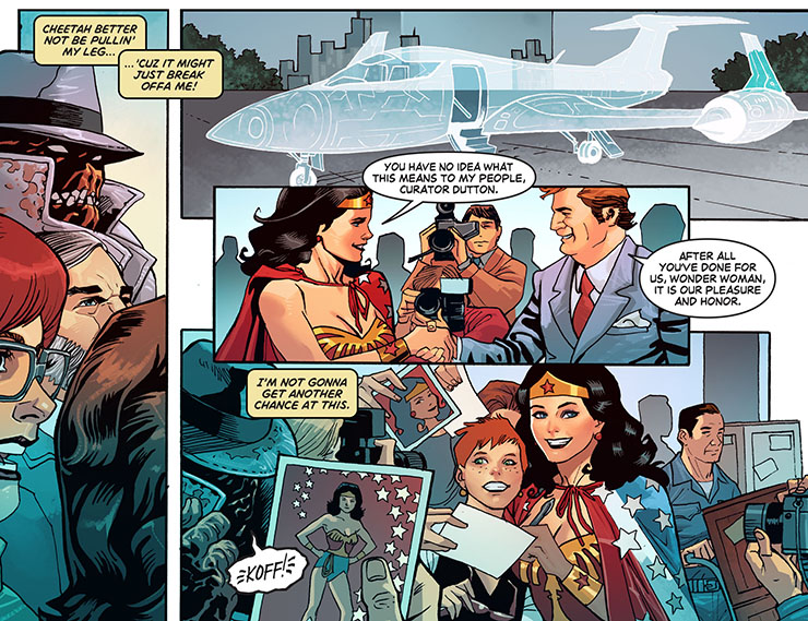 Wonder Woman '77 Preview Page