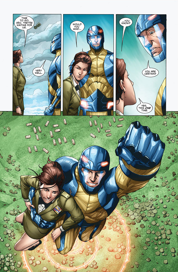 X-O Manowar #43 Preview Page