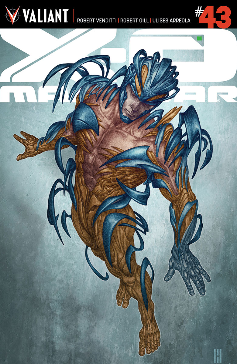 X-O Manowar #43 Cover