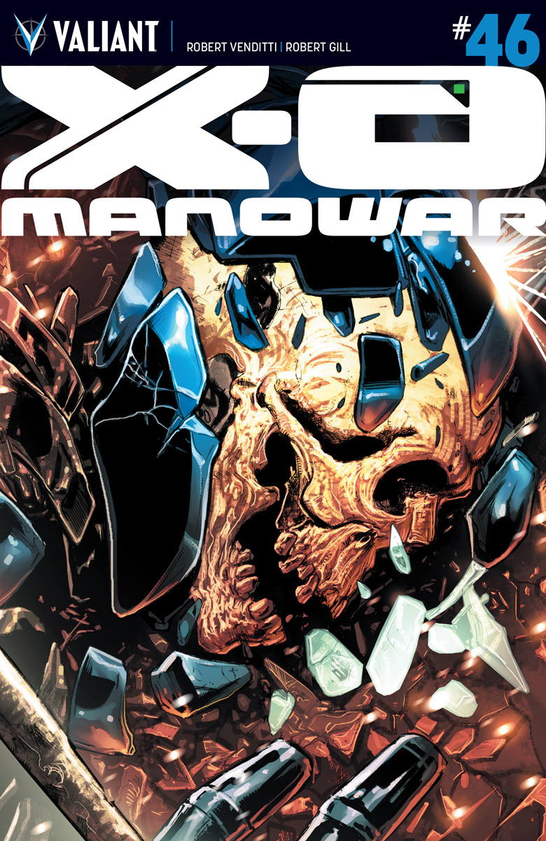 X-O Manowar #46 Cover