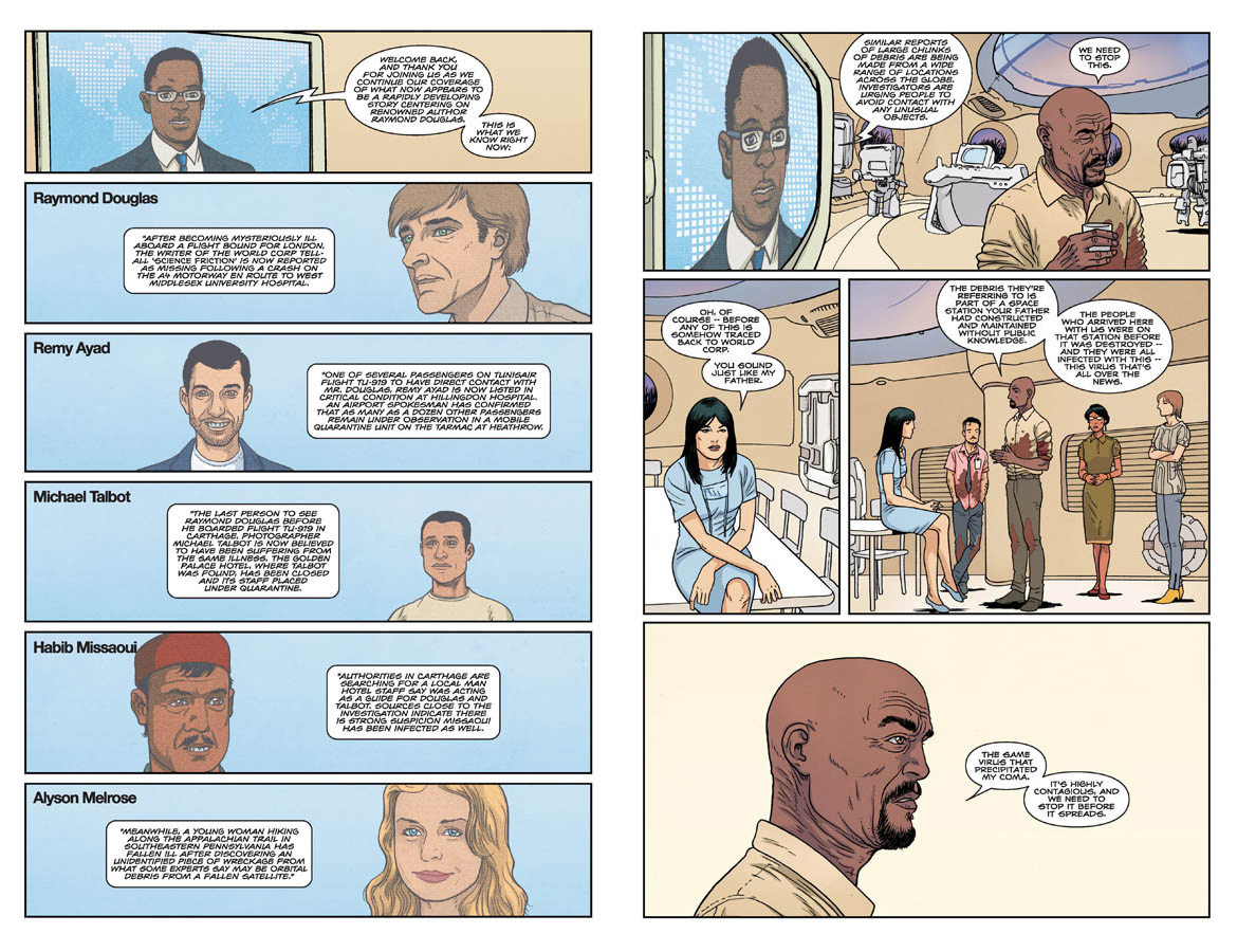 Nowhere Men #7 Preview Pages