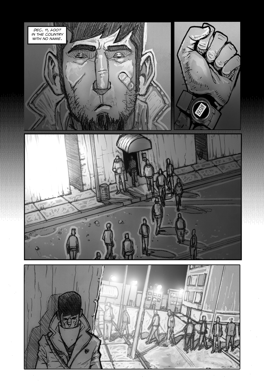 American Terror Preview Page