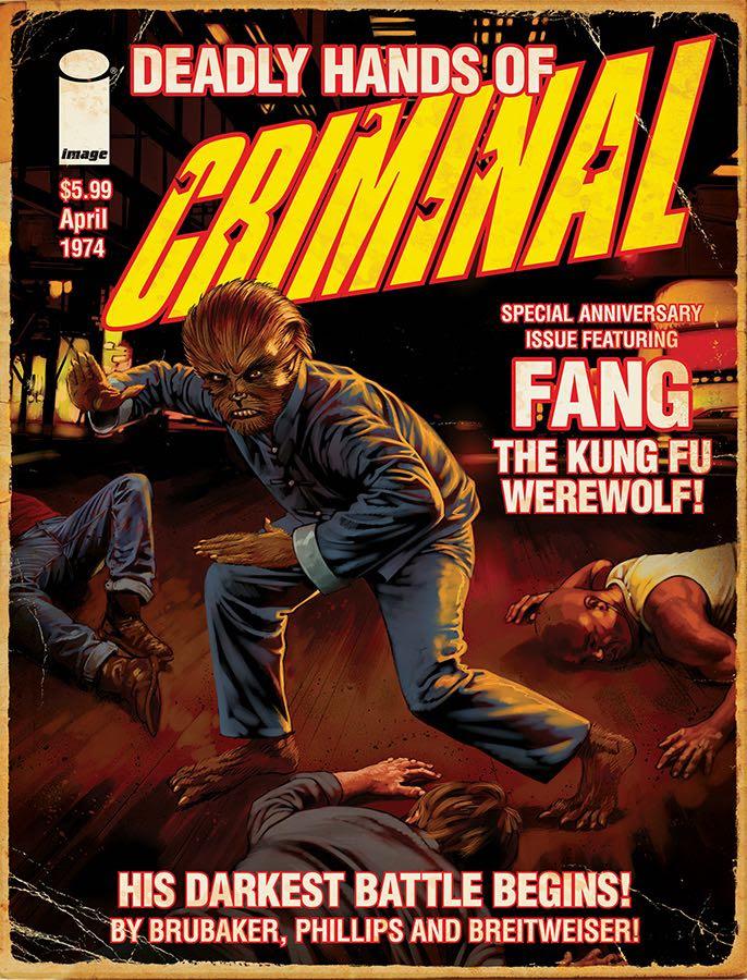 10th Anniversary Criminal Magazine Cover