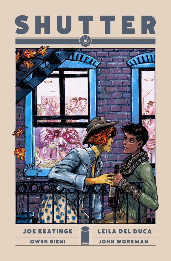 Shutter #18 Cover
