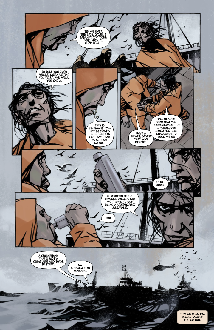 Starve #6 Preview Page