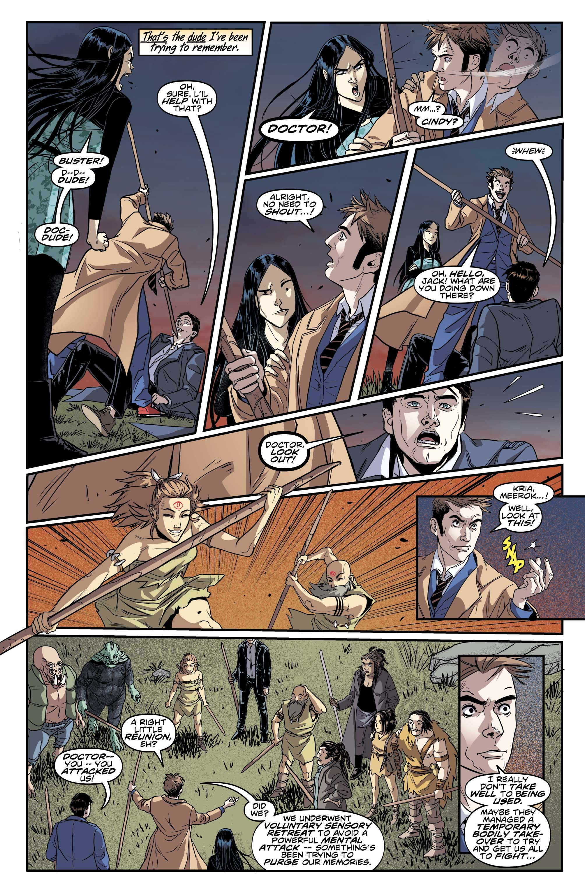 Doctor Who: The Tenth Doctor #2.6 Preview Page