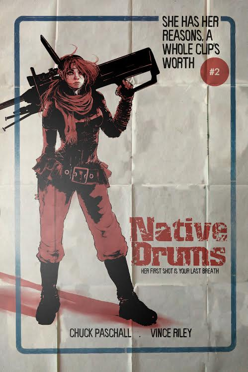 Native Drums #2 Cover