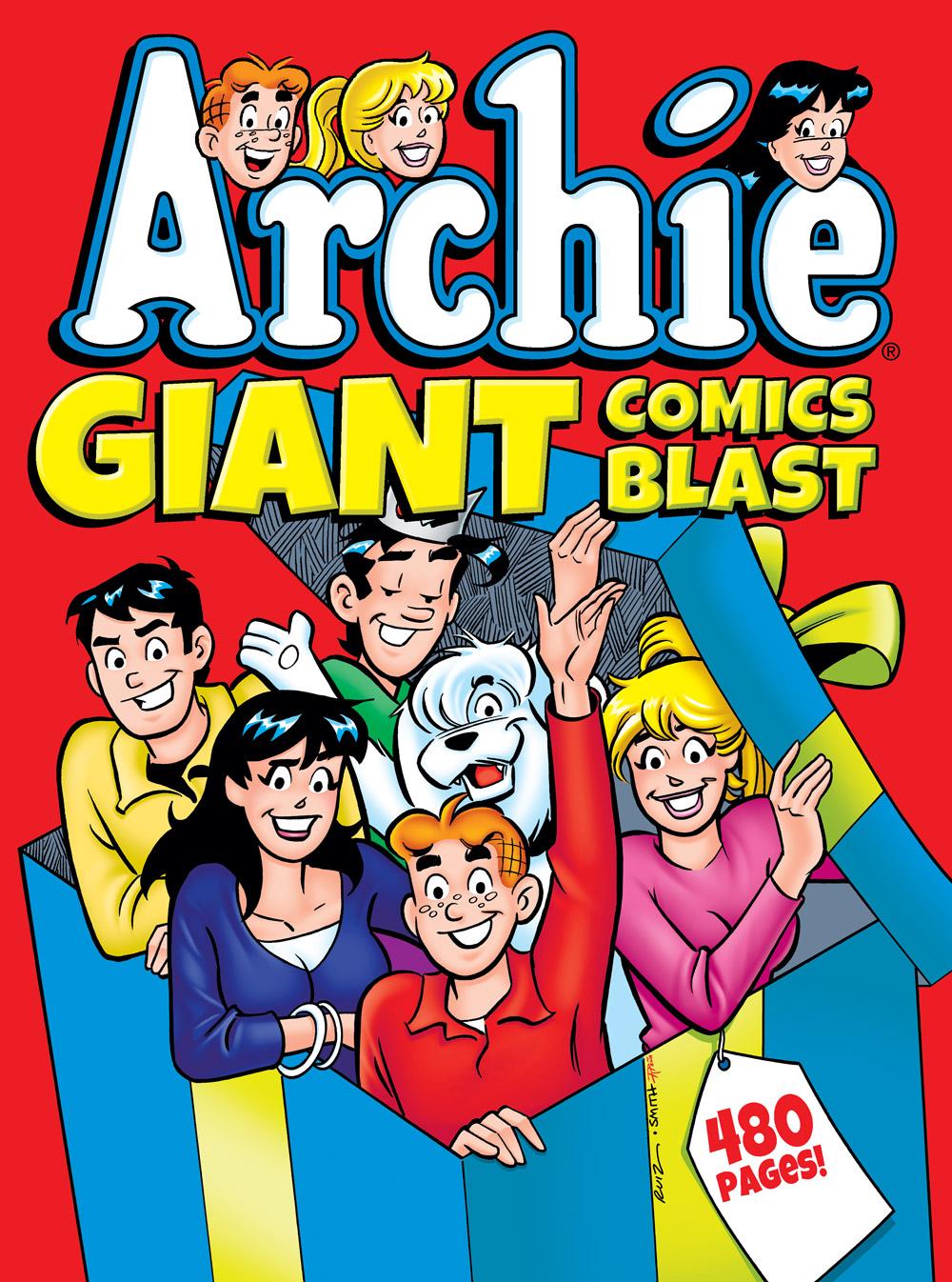 ARCHIE GIANT COMICS BLAST Cover
