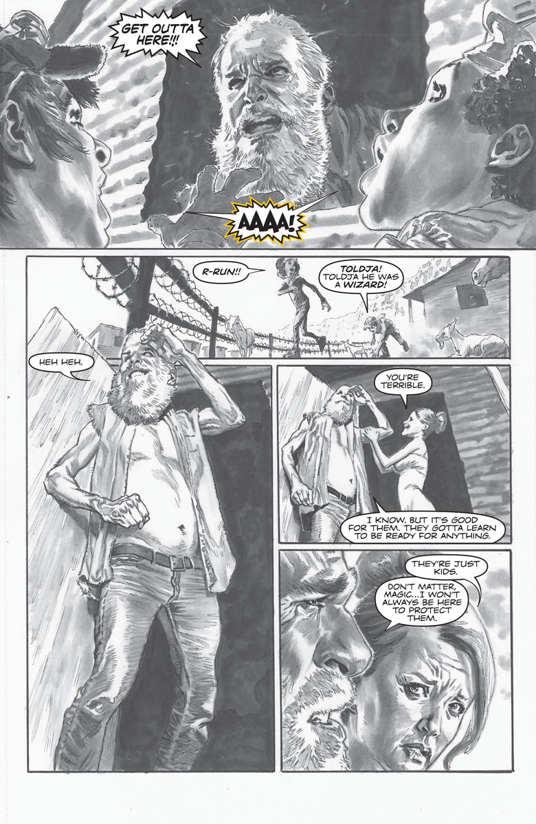 Bloodshot Reborn: The Analog Man - Director's Cut #1 Preview Page