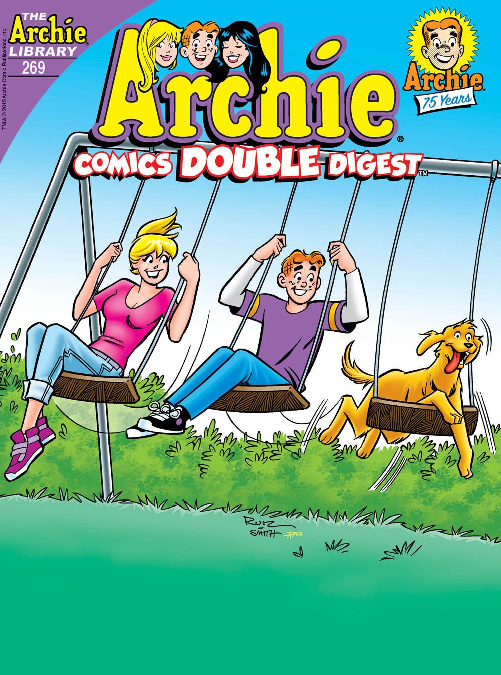 ARCHIE COMICS DOUBLE DIGEST #269 Cover