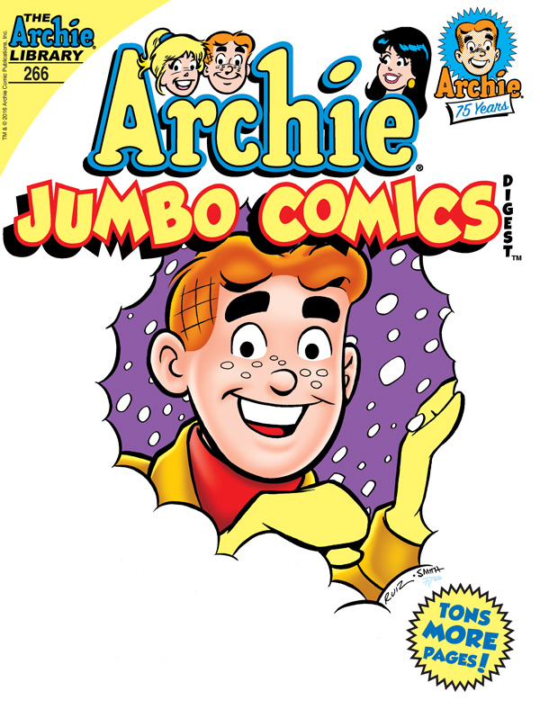 Archie Jumbo Comics Digest #266 Cover