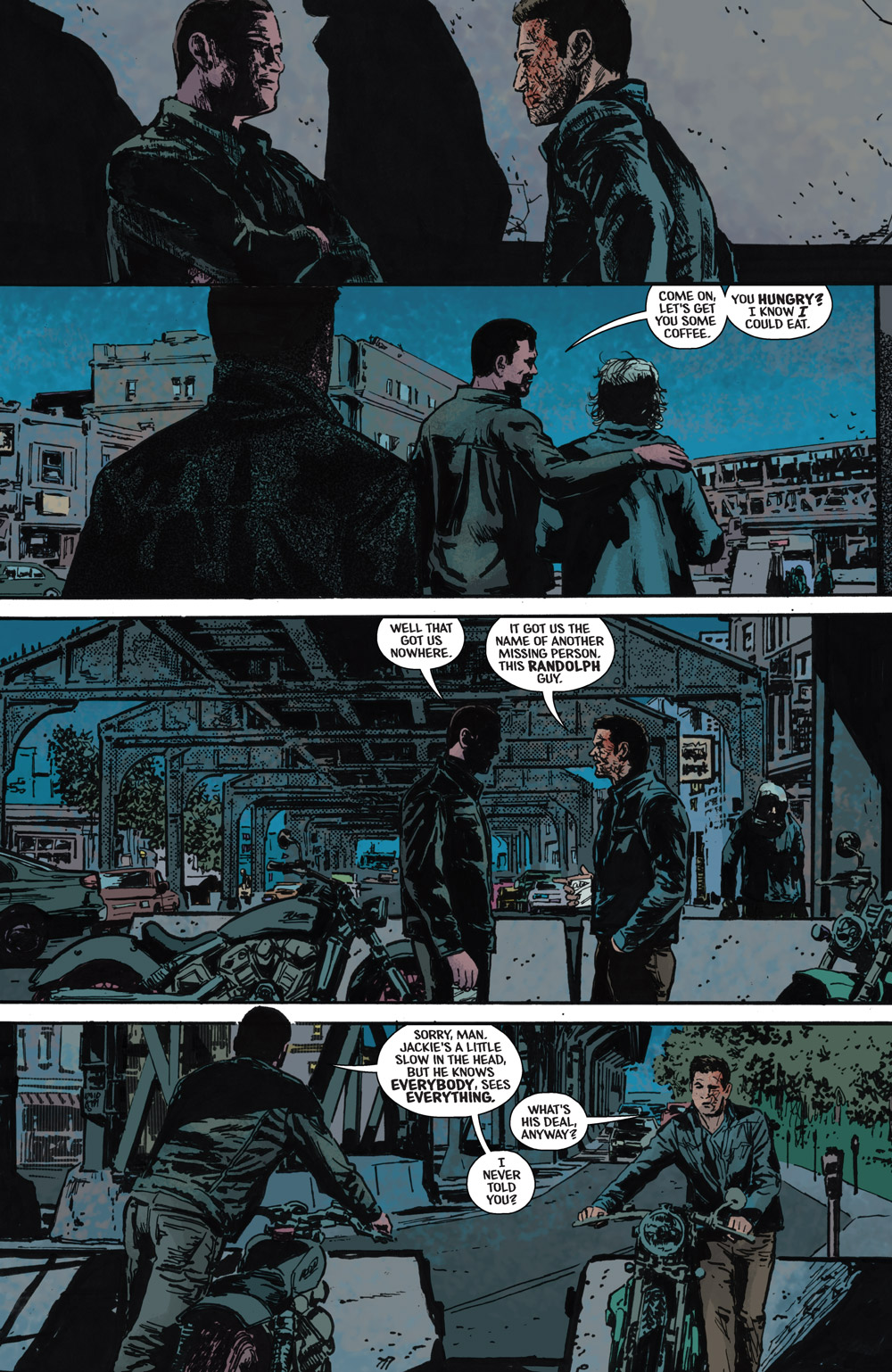 The Black Hood #9 Preview