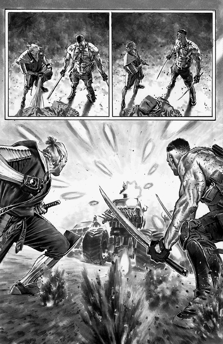 Bloodshot Reborn #12 First Look