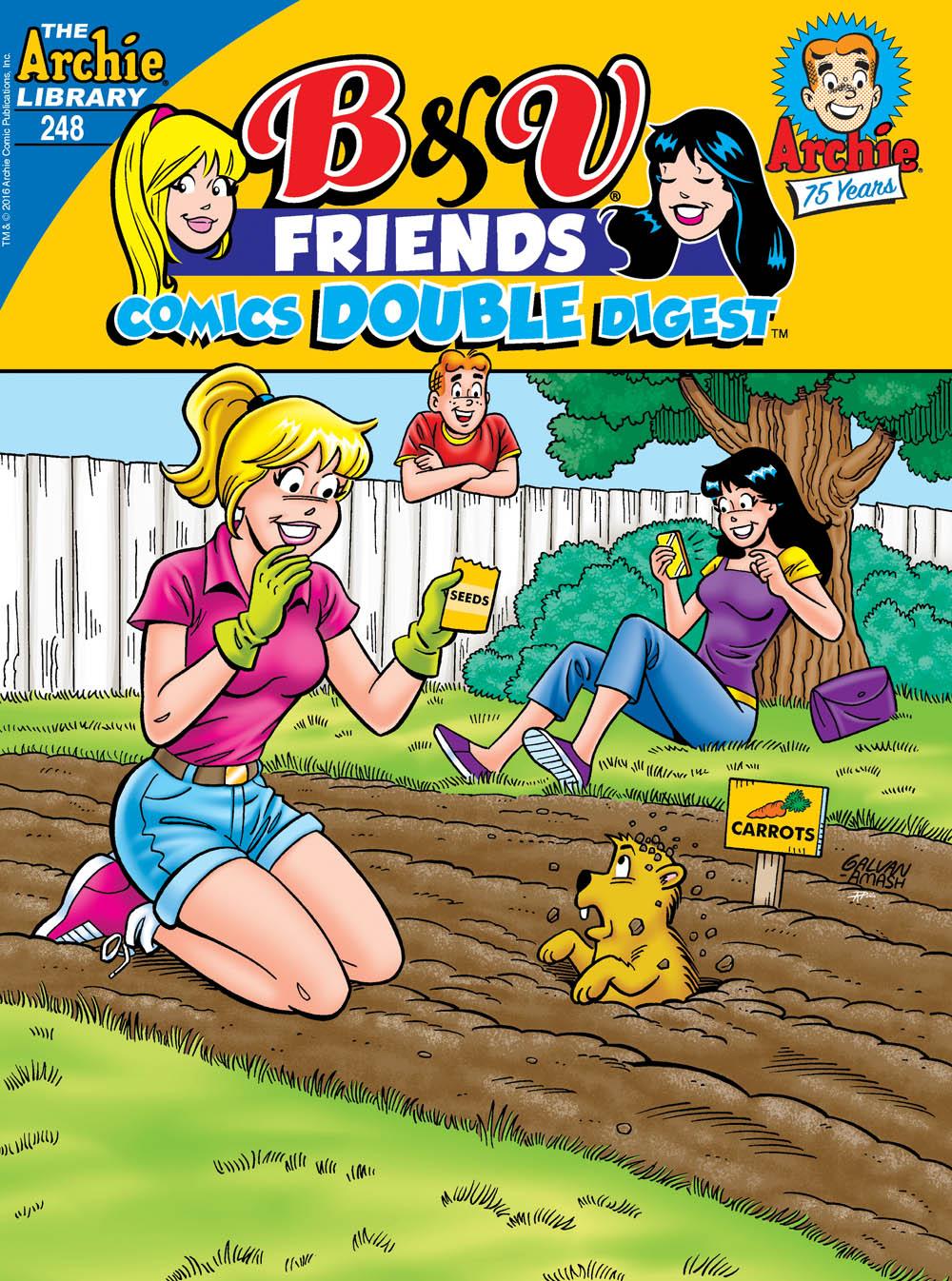B&V FRIENDS COMICS DOUBLE DIGEST #248 Cover