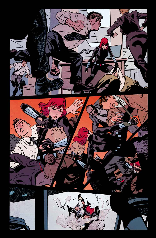 Black Widow #1 First Look