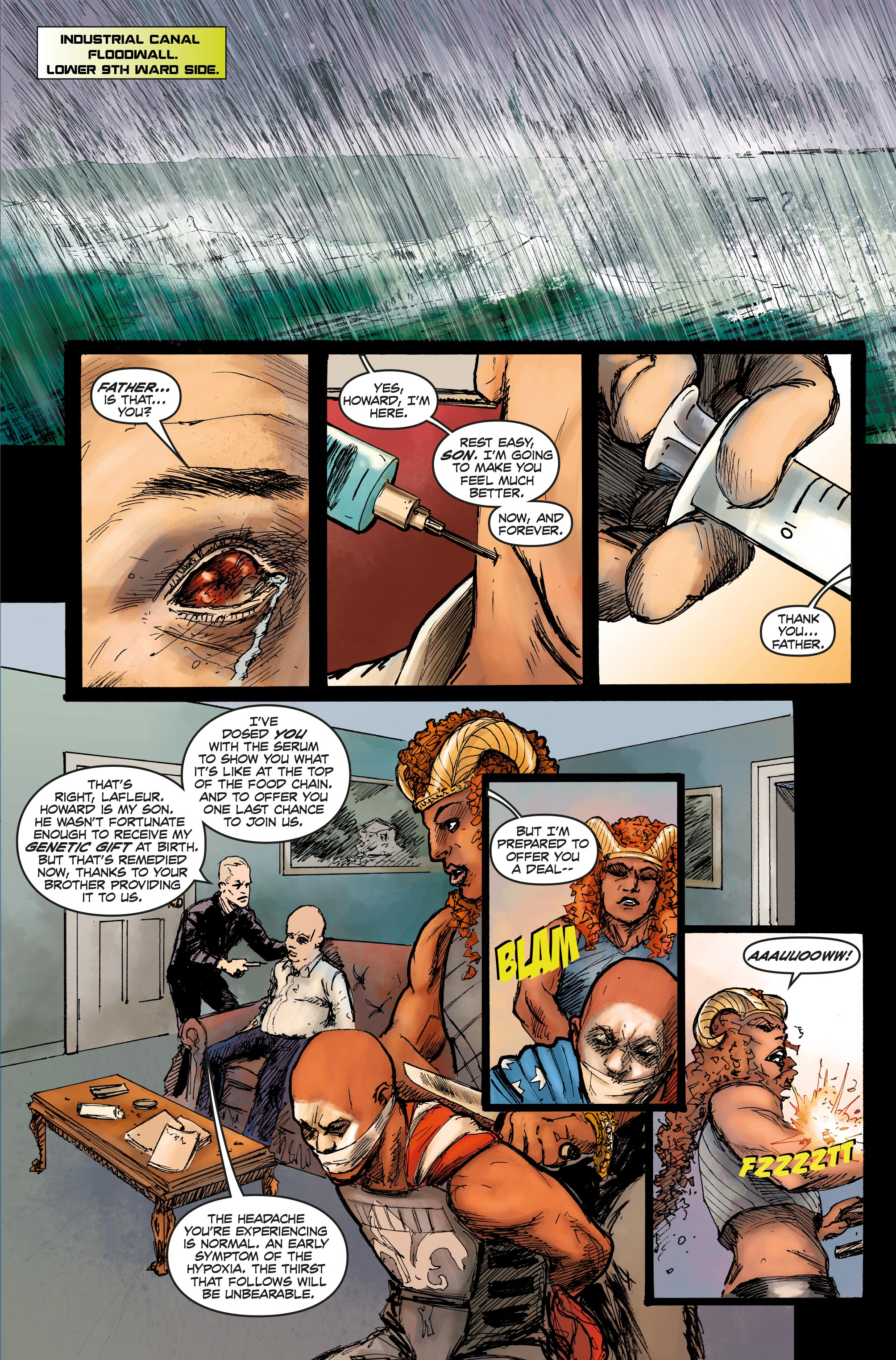 Bloodthirsty #5 Preview Page