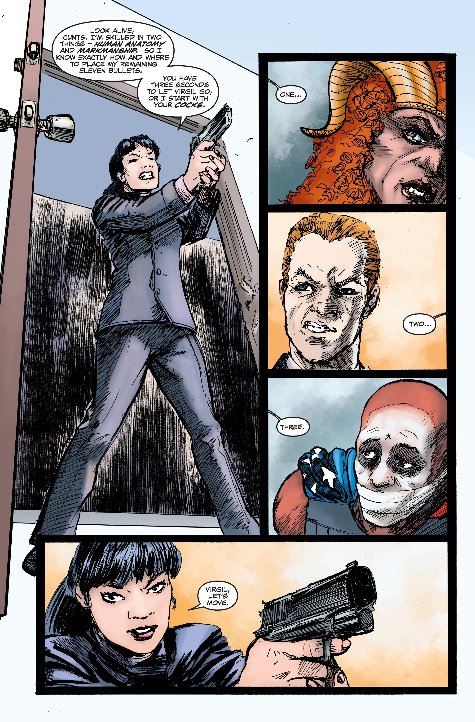 Bloodthirsty #5 Preview PageBloodthirsty #5 Preview Page