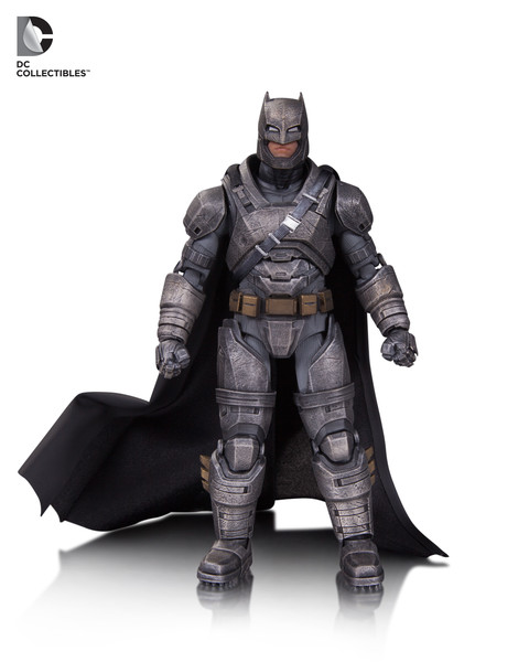 DC films action figure: Armored Batman