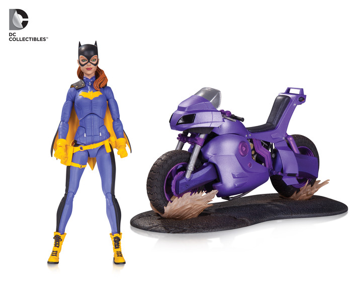 DC Comics Icons: Batgirl Deluxe action figure