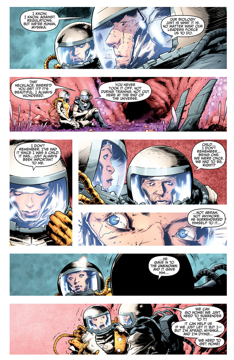 Divinity II #1 Preview Page