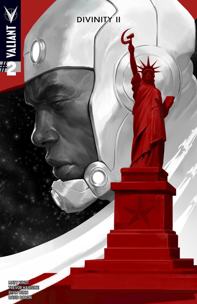 DIVINITY II #2 (of 4) Cover