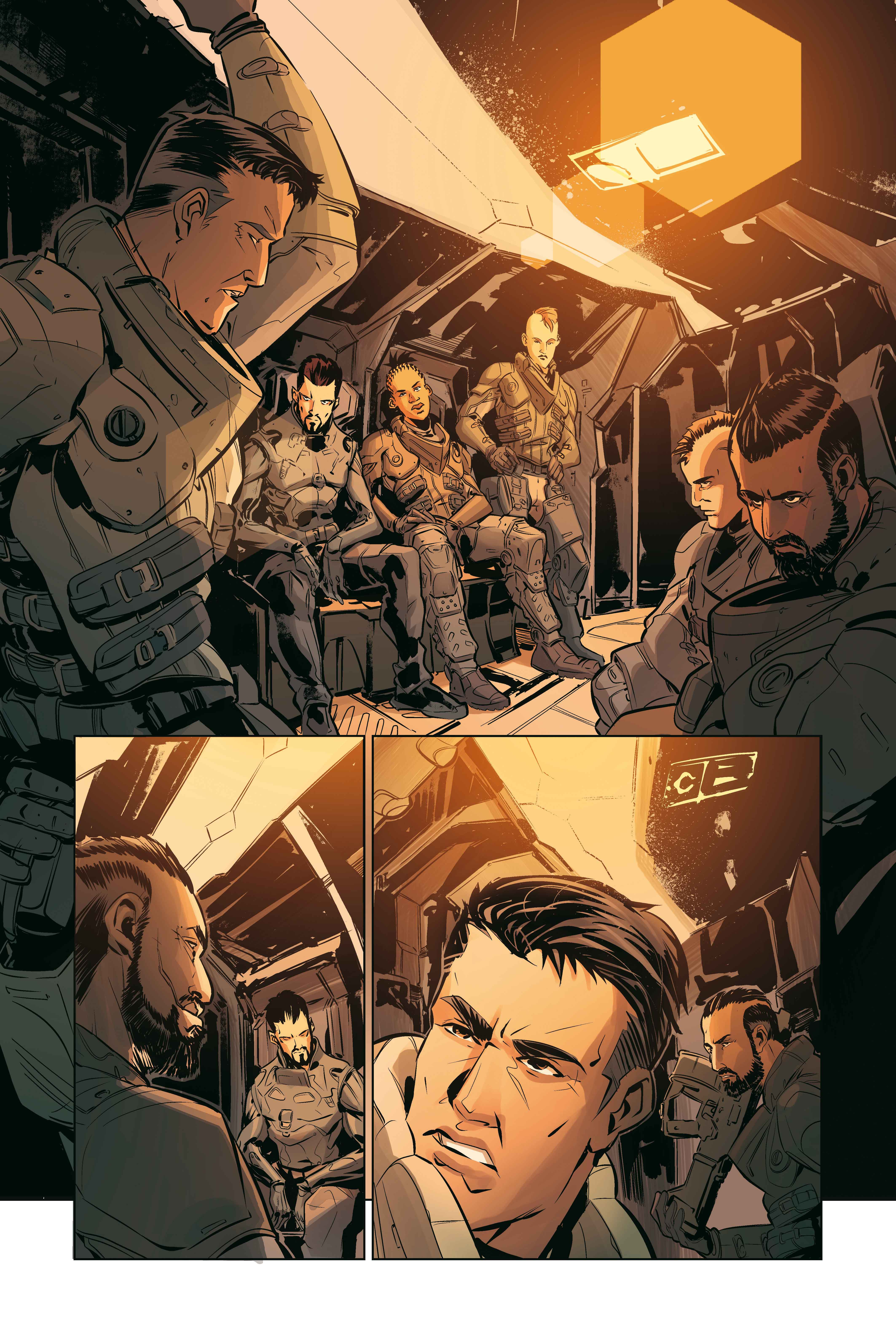 Deus Ex Universe: Children's Crusade #1 First Look