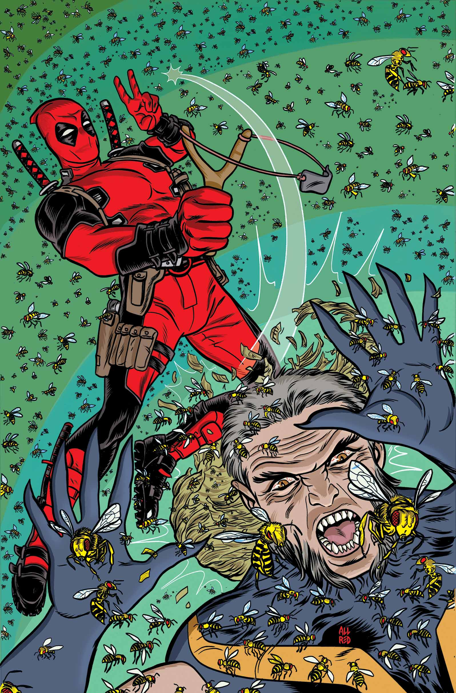 Deadpool #8 Cover