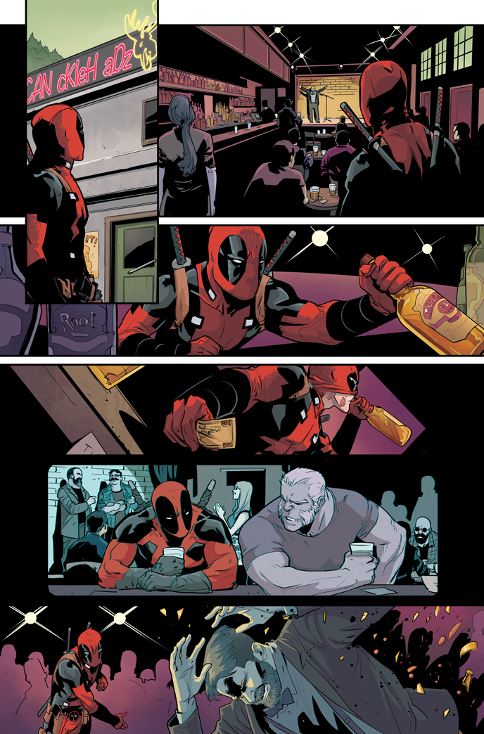 Deadpool #8 First Look