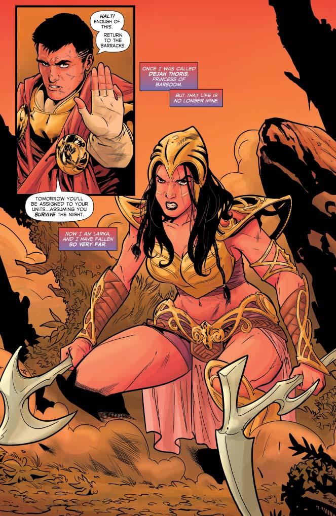 Dejah Thoris #1 Preview Page