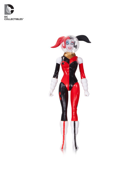 Designer Series Amanda Conner: Retro Rocket Harley Quinn action figure