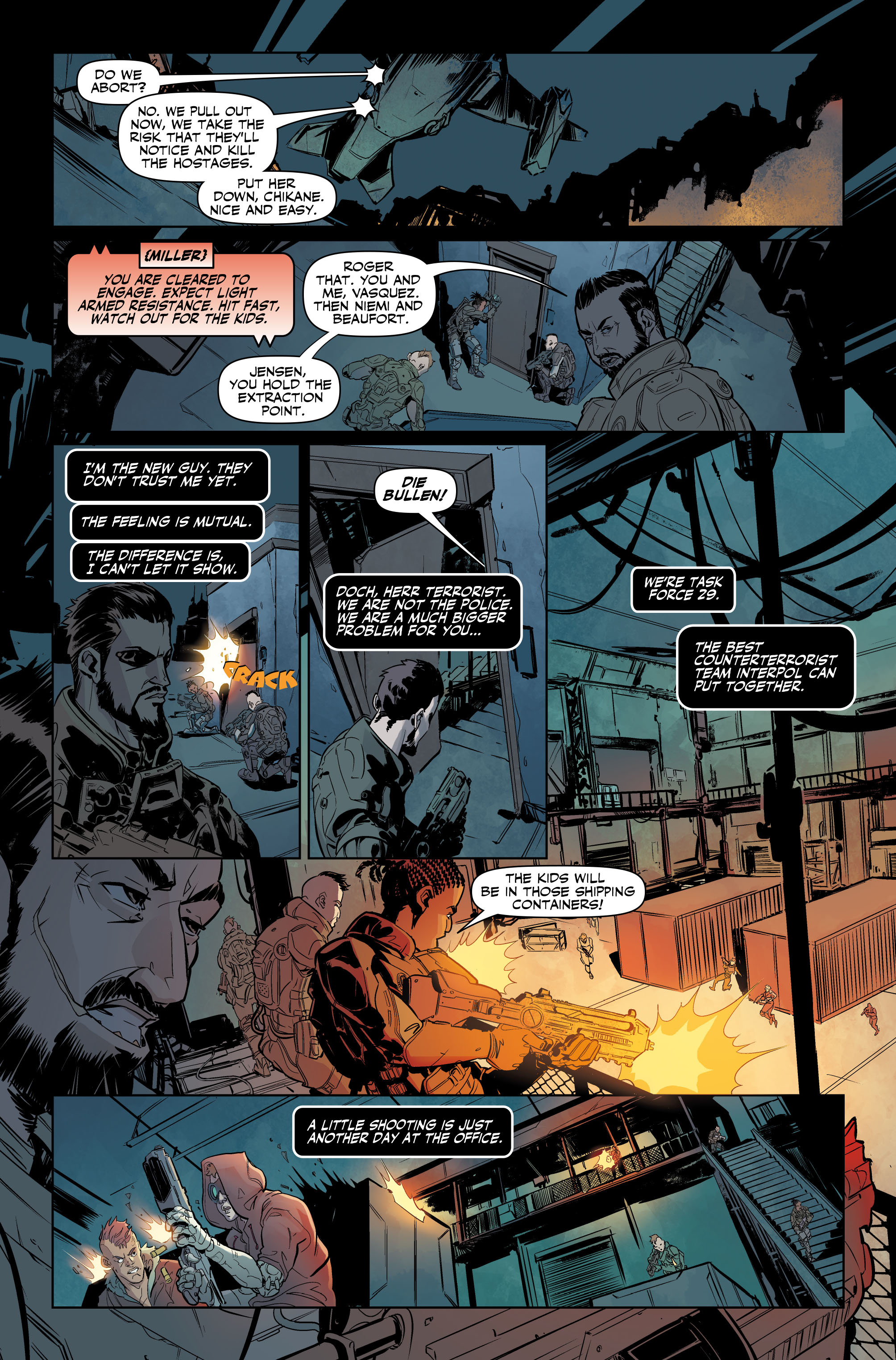 Deus Ex #1 Preview Page