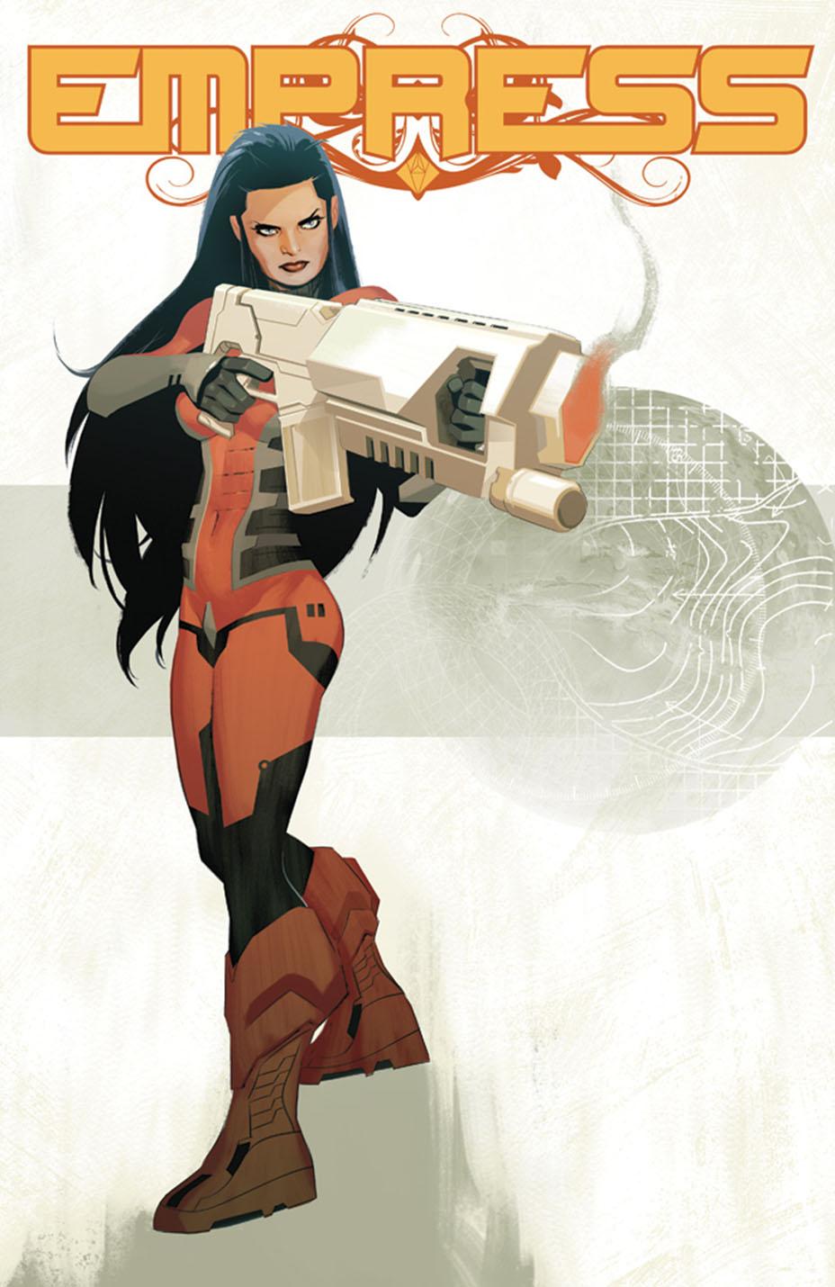 Empress #1 Cover