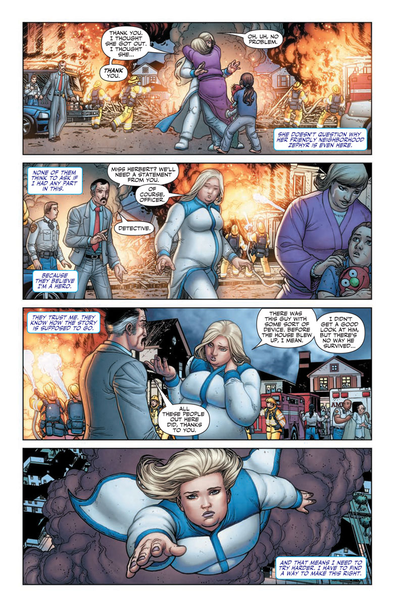 Faith #2 Preview Page