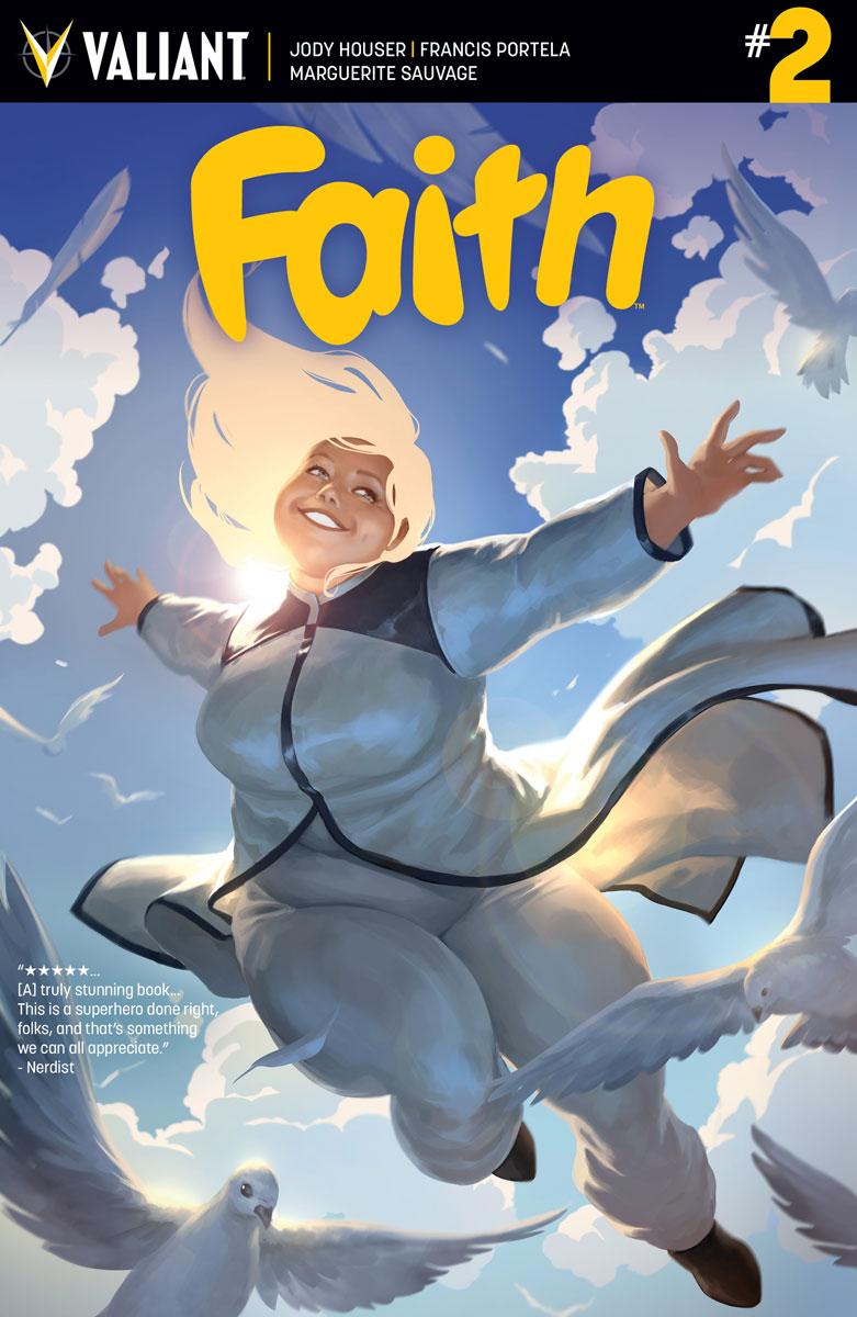 Faith #2 Cover