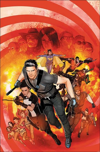 Cover by Mikel Janin