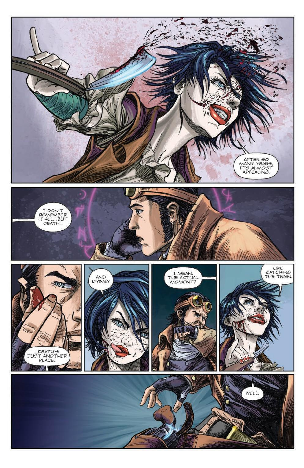 Gutter Magic #2 Preview Page