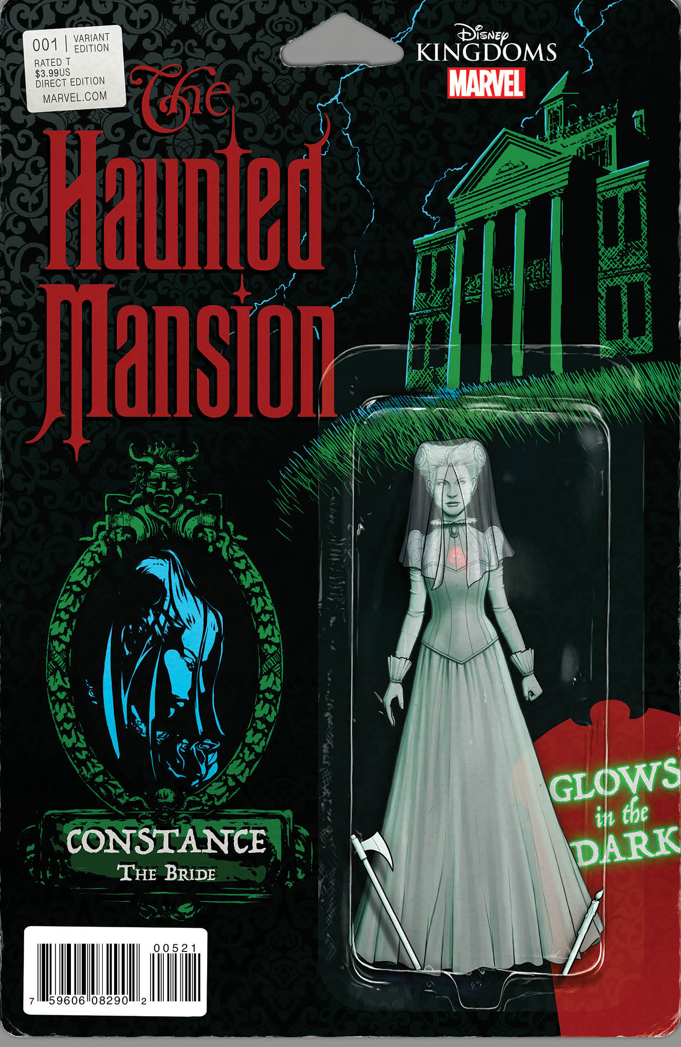 Haunted Mansion #1 Cover