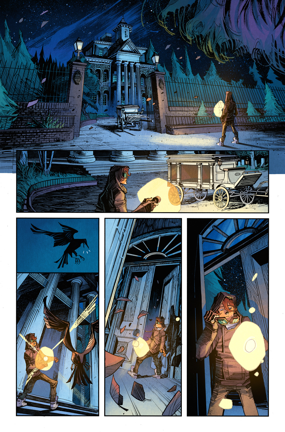 Haunted Mansion #1 First Look